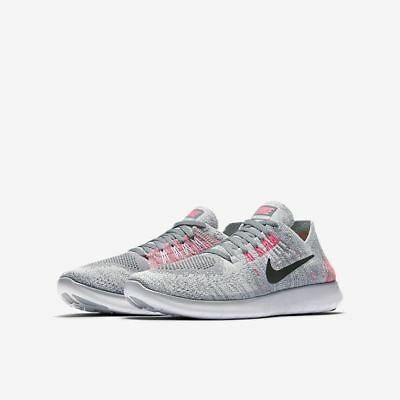 Nike Free RN Flyknit 2017 Youth running shoes 881974 001 Multiple sizes GS