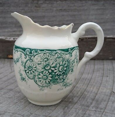 Vintage art deco Tuscan China cream /milk jug