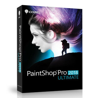 Corel Paintshop Pro 2018 Ultimate - Photo Multi-cam Video Editing Software