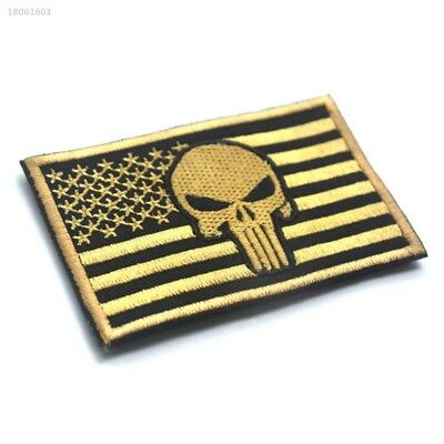 1FBED3C AMERICAN SNIPER Punisher Stars And Stripes Cloth Sticker Armband Simple