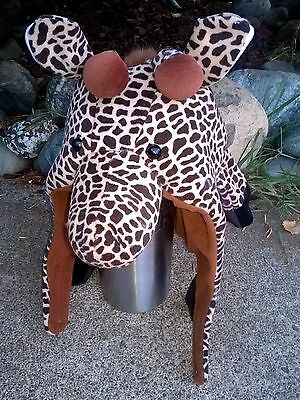 Toddler / Kid / Youth GIRAFFE HAT - previously owned and in clean condition