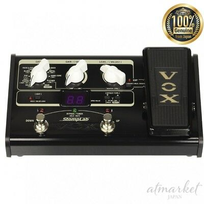 NEW VOX STOMPLAB2G Modeling Guitar Multi-Effects Pedal genuine from JAPAN