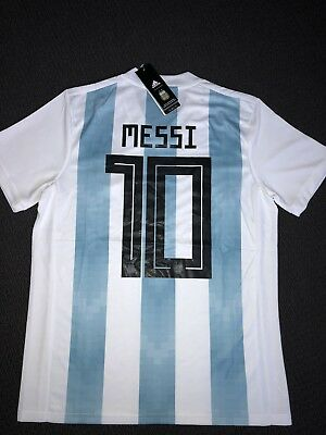 Messi Argentina 2018 Home Jersey Brand New (small)