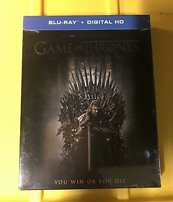 Game Of Thrones Season 1 Bluray (Includes Digital HD) Brand New w/Slipcover