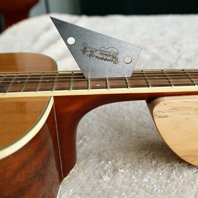 High-quality Guitar Neck Straight Edge and Fret Rocker- Luthier Tools