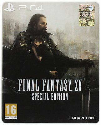 Final Fantasy XV Special Steelbook Edition **Sony PS4 NEU OVP Spiele