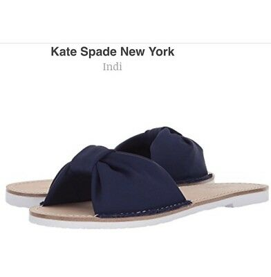3b00e2eec09a NIB NEW WOMENS 8.5 8 1 2 Kate spade Carnegie mule loafer shoes  258 ...