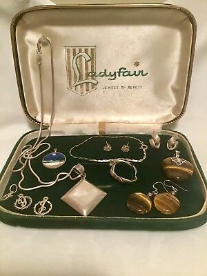 Lot Bundle Vintage Sterling Silver Jewellery 925 Bulk