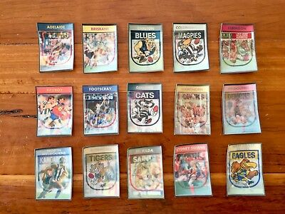 AFL Colourgrams 1992 - Complete Set Of 15