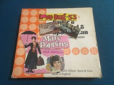 Super 8 Film Stock Mary Poppins & The Love Bug