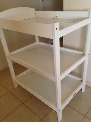 Mother's Choice baby change table - white
