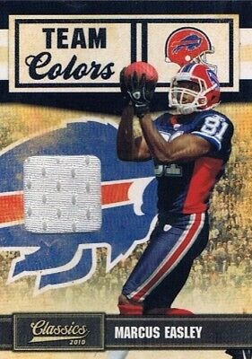 2010 Classics - Team Colors Jersey #30 Marcus Easley - Buffalo Bills #279/299