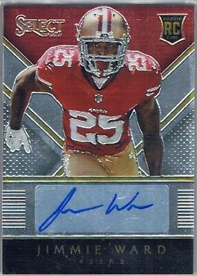 2014 Select - Rookie Auto # Jimmie Ward - San Francisco 49ers #146/149