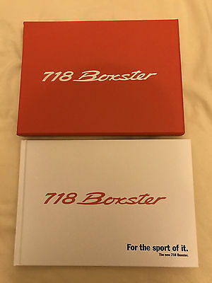 Porsche Boxster 781 Launch Kit and Brochure