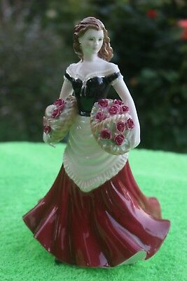 Royal Worcester figurine - ROSE, Street Sellers, by Compton & Woodhouse