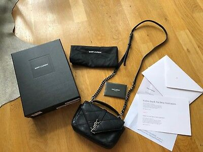 Saint Laurent College Bag Tasche *neuwertig* It-Bag Rechnung Crossbody Yves Ysl