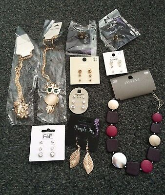 Joblot Wholesale Car boot Necklace Earring Rings