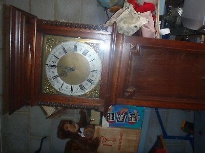 grandfather clock with chime