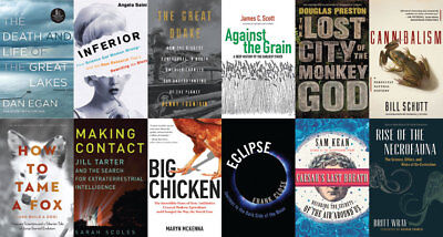 Science books collection - 250+ ebooks on DVD - PDF  books