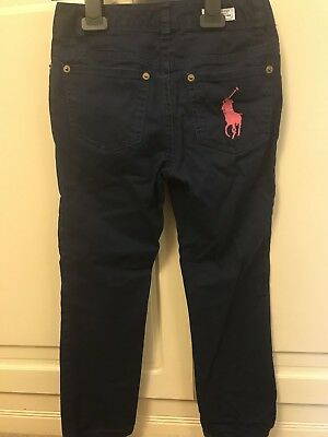 Girls Ralph Lauren Chinos/Trousers Age 7