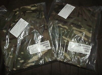 British Army Issued Ubac Shirts X 2 In Full Mtp Camo, Large X 2 - New