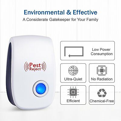 1PCS Ultrasonic Pest Repeller Plug  - Electrical Mice Repellent & Bug Repellent