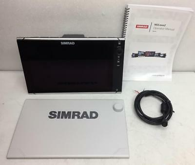 SIMRAD NSS12 Evo2 CHARTPLOTTER AND MULTIFUNCTION DISPLAY NSS-12