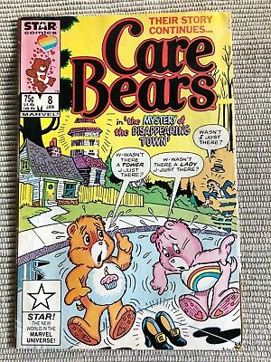 Care Bears (Marvel/Star Comics) #8 1987