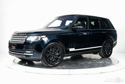 Land Rover Range Rover 3.0L V6 Supercharged HSE 2016 3.0L V6 Supercharged HSE Used 3L V6 24V Automatic 4WD SUV Premium Moonroof
