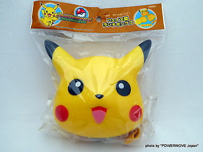 New Pokemon Pikachu Compact Lunch Box Double-Stage Pocket Monster Plastic Case