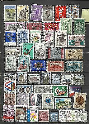 2843-Lote Stamps Belgium Ancient And Modern Without Price,