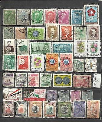 7073C-Lote Stamps East Medium,persia,iraq,jordania.sin Repeated,without Price,
