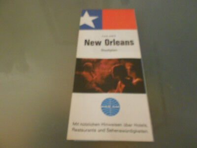 USA-Roadmap von 1968-NEW ORLEANS-PAN AM