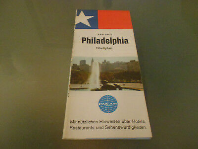 USA-Roadmap von 1968-Phiadelphia-PAN AM