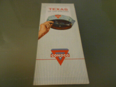 USA-Roadmap von 1968-TEXAS-CONOCO