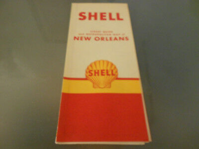 USA-Roadmap von 1968-NEW ORLEANS-SHELL
