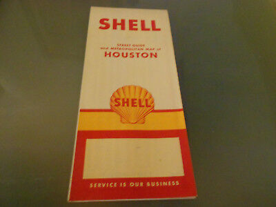 USA-Roadmap von 1968-Houston-SHELL