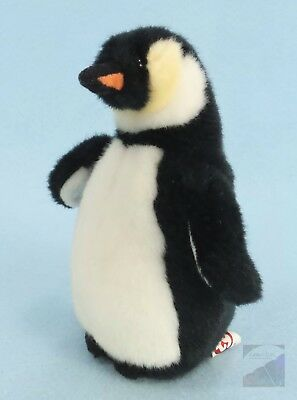 """TY Beanie Babies ADMIRAL Penguin 6"""" Plush Toy Stuffed Animal No Heart Tag EXC"""