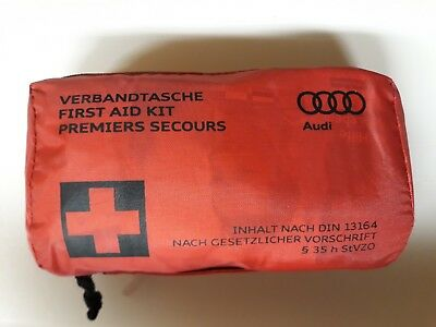 Genuine OEM AUDI First Aid Kit 8F0 860 282D A1 A2 A3 A4 A5 A6 A7 A8 Q3 Q5 Q7