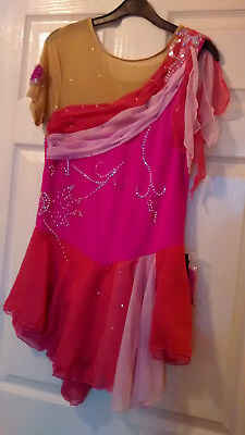Ladies Ice Roller Skating Dress size XL approx 14-16