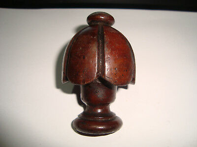 Clock Case Top Finial 45mm Wide - 70mm Long (in need of restoration) Lot 24