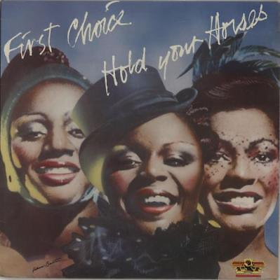 First Choice Hold Your Horses vinyl LP album record UK SSLP1514 SALSOUL 1979