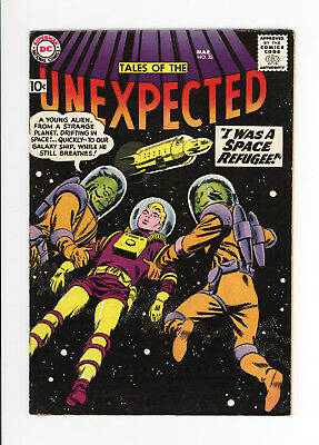 Tales Of The Unexpected #35 - Beautiful Vf 7.5 - Fantastic Cover! - 1959