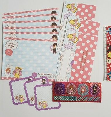 Cute Kawaii Letter Brief Set Japan Import Manga Anime