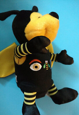 Original IBM Bee Plush Doll Toy, Great Condition