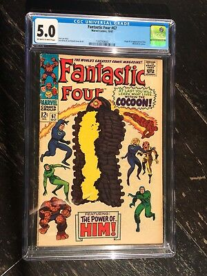 Fantastic Four #67 CGC 5.0 Off White To White Pages
