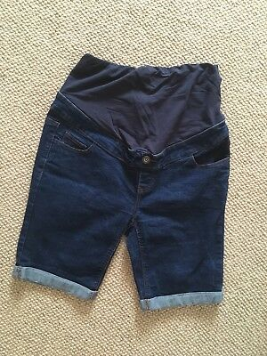 New look Denim Maternity Shorts Size 10