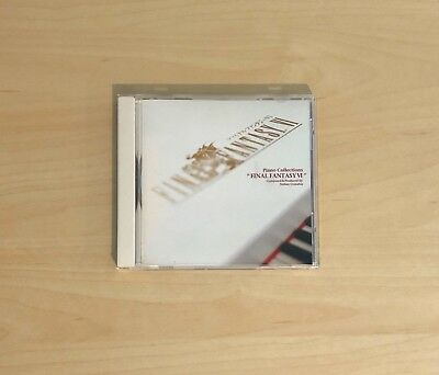 Final Fantasy VI 6 - Piano Collections CD Nobuo Uematsu