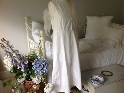 Romantic Vintage Antique French White Honiton  Lace Petticoat Boho Summer Dress