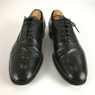 a4baaa1167548 BROOKS BROTHERS MEN S Black Leather Penny Loafers Shoes Size 8.5D ...